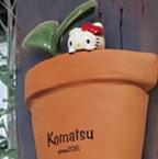 Hello Kitty ガーデンポット表札