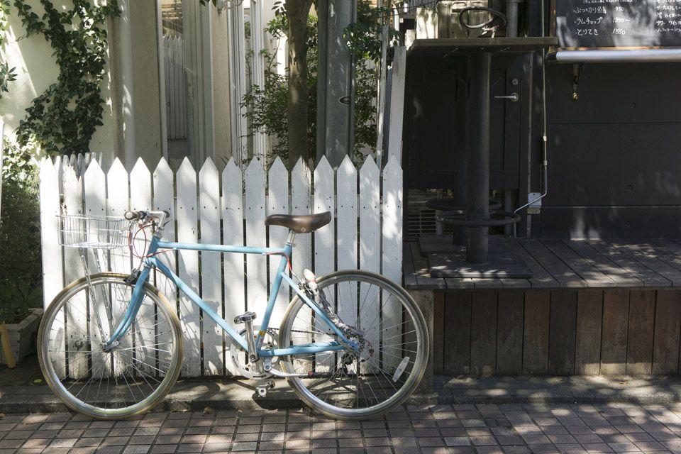 自転車スタンドでママチャリをおしゃれに収納